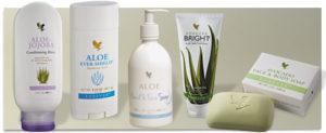natuurlijke persoonlijke verzorgingsproducten met Aloë Vera